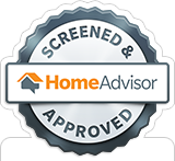 Home Advisor Logo Stamp